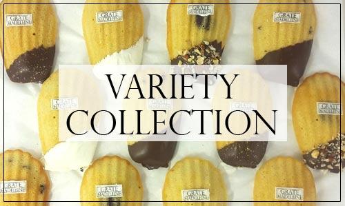 Grate Madeleine - Variety Pack Madeleines