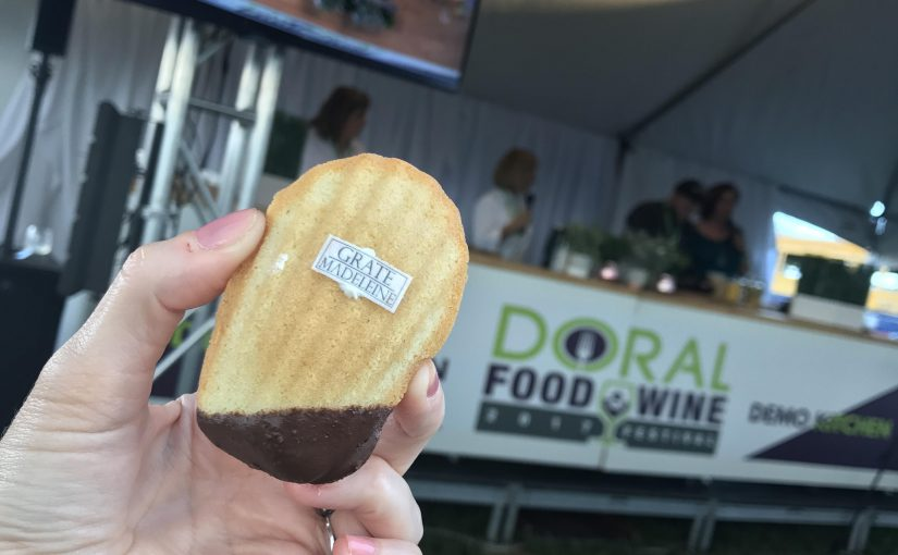 Doral Food and Wine Festival - Grate Madeleine 3