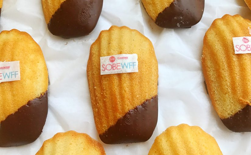 Grate Madeleine - SOBEWFF - Chocolate Dipped