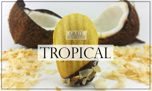 Grate Madeleine - Tropical